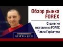 Обзор рынка форекс 14.09.2017 Стратегия торговли на форекс П.Горбачука