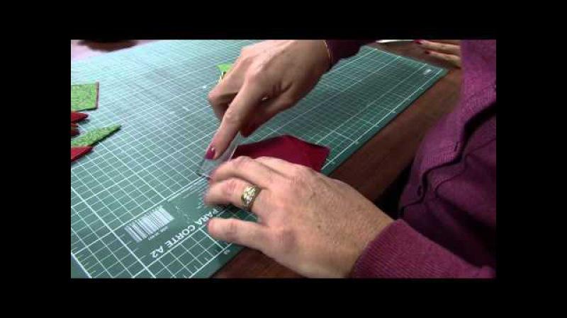 Mulher.com 28/06/2013 Claudia Niero - Origami em tecido Parte 1/2