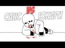 Санс VS Юкари Якумо! Rus DubUndertale Animation