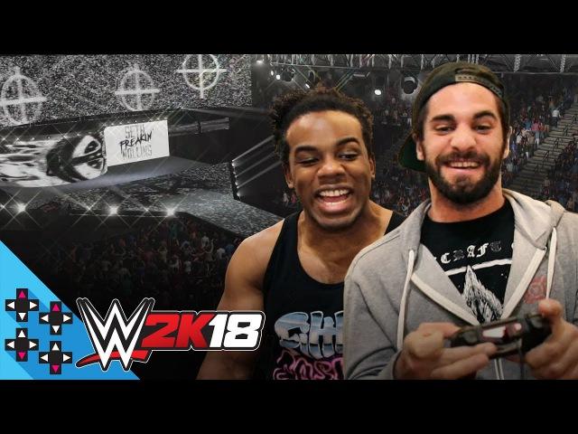 WWE 2K18: SETH ROLLINS AUSTIN CREED enter the ROYAL RUMBLE! - UpUpDownDown Plays