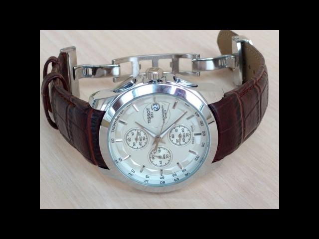 Часы Tissot Couturier T035 Кварц Коричневый Ремень