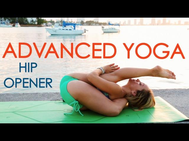 Advanced Yoga Week Three Hip Openers and Leg Behind the Head with Kino