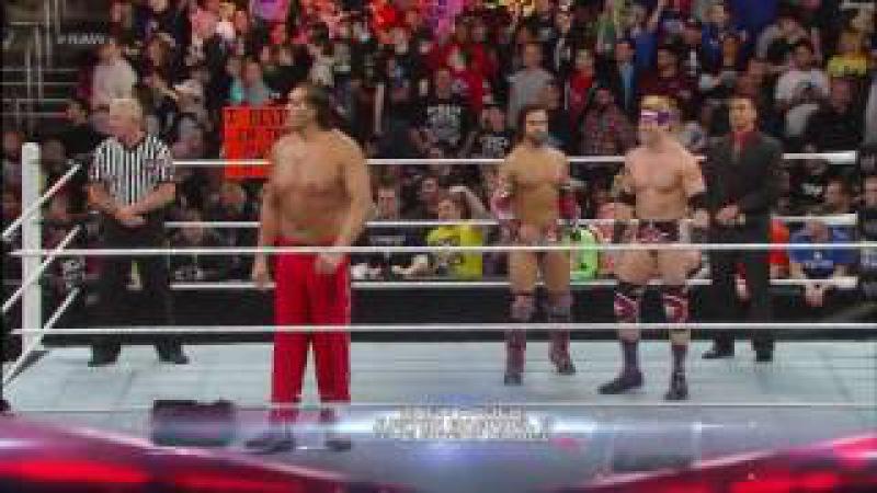 The Shield vs The Great Khali Justine Gabriel Zack Ryder WWE Raw 25 March 2013 Full Match