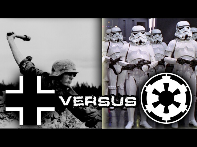 Nazi Germany vs Galactic Empire (WW2 vs. Star Wars - Men of War: Assault Squad 2)