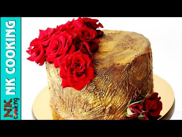 Шоколадный Торт 🍰 Оформление Живыми Цветами 🌹 Рецепты NK cooking смотреть онлайн без регистрации
