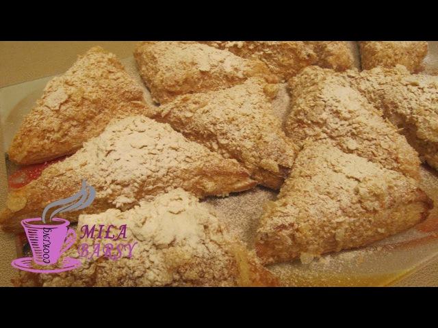 Быстрый Наполеон мини пирожные Очень вкусно (Napoleon mini cakes) Простой рецепт