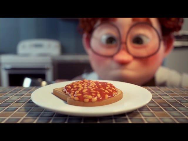 Смешной короткометражный мультфильм 🌽 🍠 🍯 🍞 🧀 🍗 🍖Спот Geoff.