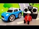 Мультики про машинки. Новая синяя ЛЕГО машинка в мультике - Крутая гонка. Видео д ...