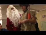 Дед Мороз и Баба Яга на корпоративе Ололошек, 23-12-2017
