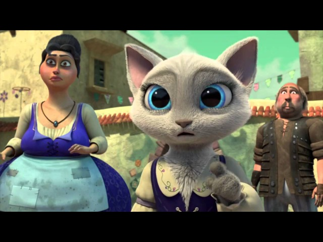 Приключения кота в сапогах 2 сезон 3 серия
