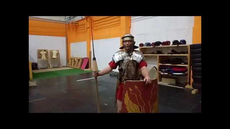 Translation of the training on throwing pilums of COH.II.LEG.X.FRT. Трансляция тренировки.