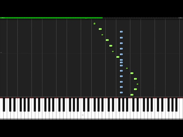 Carol of the Bells [Piano Tutorial] (Synthesia) Nicholas Steinbach