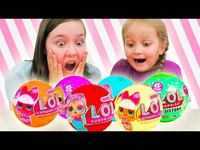 НОВЫЕ ЦВЕТНЫЕ ЛОЛ ⁉ ОРИГИНАЛ или Китайские ПОДДЕЛКИ Шарики с Куклами Fake LOL Dolls Surp