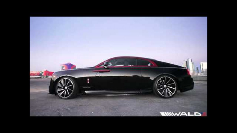 WALD Rolls Royce Wraith Black Bison Edition - World's First