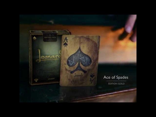Leonardo | Art Playing Cards