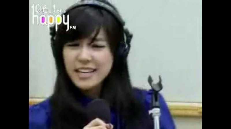 Jessica Tiffany - Garden in the air (BoA) @ fm inkigayo Jan 28, 2009 GIRLS' GENERATION Live