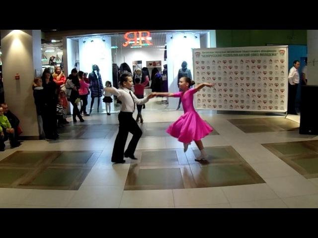 Бальные танцы для детей в Витебске джайв