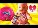 Bad Baby Беби Бон объелся конфет MESSY TOILET Real Food Fight Вредные Детки Видео для детейKIDS