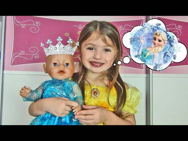 Princess Dominika play with Dresses for my Doll Are you sleeping brother John Nursery Rhyme Song