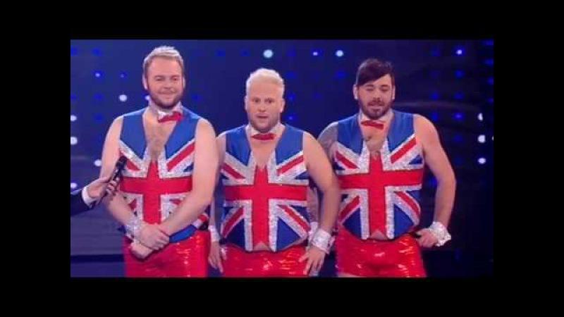 The Dreambears: It's Raining Men - Britain's Got Talent 2009 - Semi-Final 5