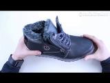 Видео-обзор на зимние ботинки ECCO