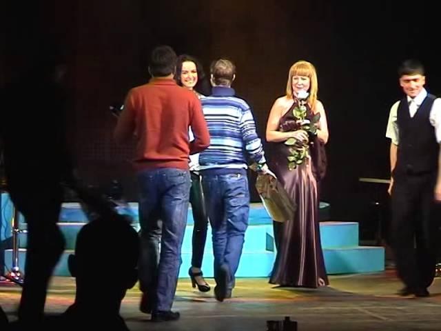 Eva Richie. concert in Russia, 2010. I live, I love, I sing 3 part