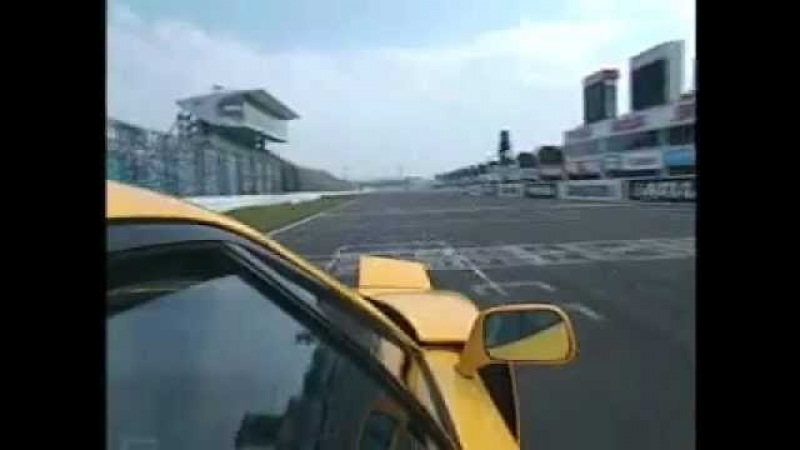Ferrari F40 on board at SUZUKA CIRCUIT tubi style sound on track