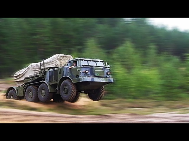 МАЗ-537 Советский монстр / Soviet Union truck MAZ-537