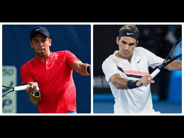 Roger Federer v Borna Coric INDIAN WELLS 2018 SF Highlights HD