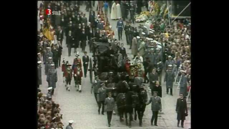 Beerdigung Ihrer Majestät Zita