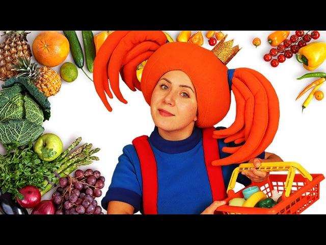 ПОИГРАЙКА - Царевна готовит ужин - Развивающее видео про еду для детей | Жила-была...