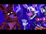 [FNAF SFM] Foxy meets Mangle