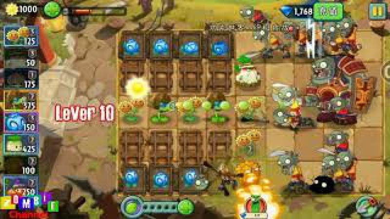 Plant vs Zombies 2 Chinese-Zomboss Kungfu World End Chicken Gamer