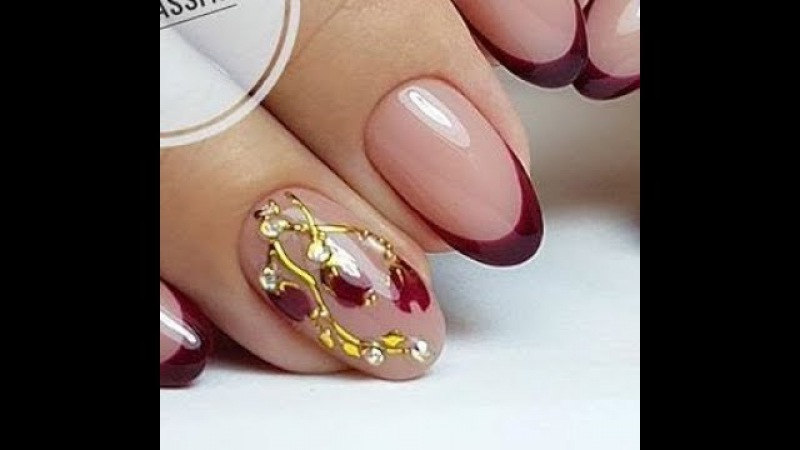 Manicure for 1 minute easy and quick ideas ✔ Amazing Nail Art Designs Compilation