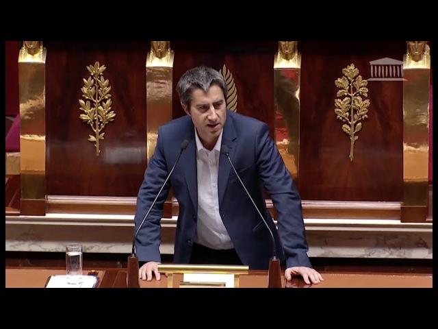 François Ruffin tape fort sur Macron et les médias à l'Assemblée Nationale