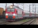 Прибытие ЭП1М 750 с поездом№247С Анапа СПБ на станцию Россошь ЮВЖД 29 08 2017