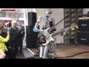 Musikmesse 2013 GIBSON Compressorhead Robot Band Live Performance