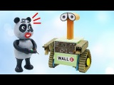 Pando DIY How to Make Robot Wall E From Cardboard