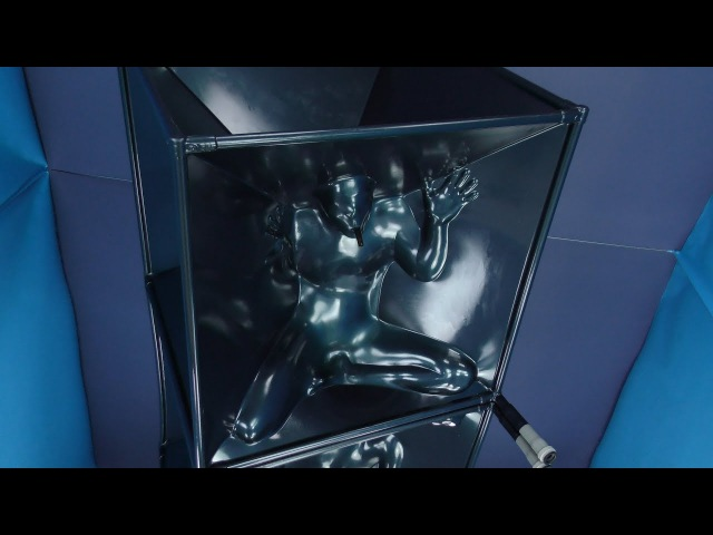 Latex vacuum cube - airtight , you can turn vacuum cleaner off ! ... from Eurocatsuits.com