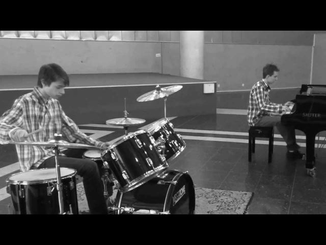 Sweet Home Chicago - Blues Brothers - Cover by Nicola Tenini (Grand Piano) Renzo Sartori (Drums)