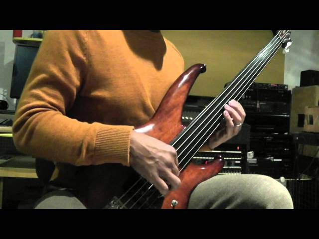 Kai Eckhardt 2015 Fretless Solo for Peter Coura (Buru Buru Bass)