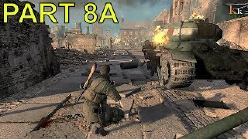 Sniper Elite V2 gameplay walkthrough part 8A