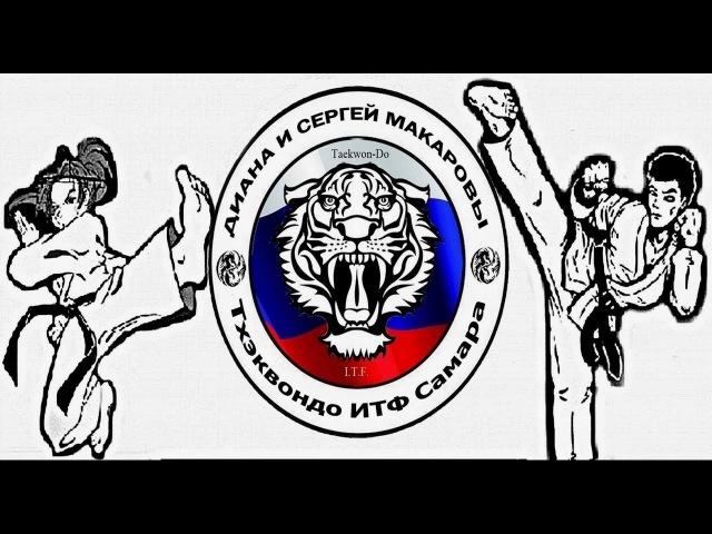Сергей Макаров Тхэквондо ИТФ Непобедимая держава 2016