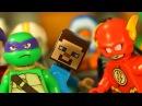 СуперГерои и ЛЕГО НУБик Майнкрафт Мультики LEGO Minecraft - Видео Мультфильмы для Детей