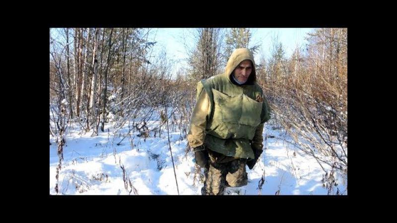 По первому снегу. ЛУЗАН - рюкзак Коми охотника. Вторая часть.