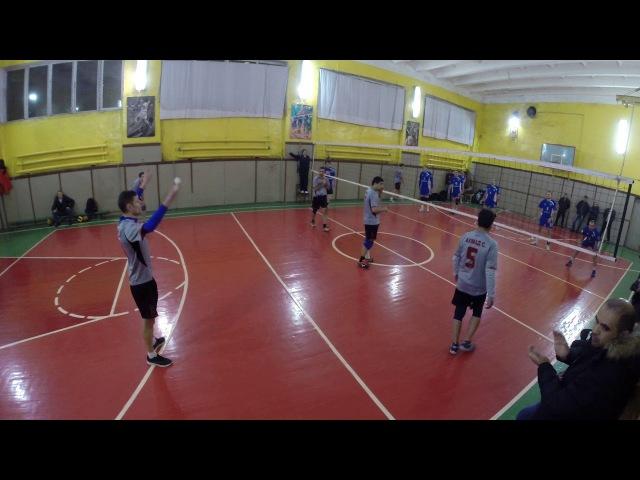 ОВЛВ. 11 неделя. Первая лига. ВК Дружба - ВК Ветераны волейбола