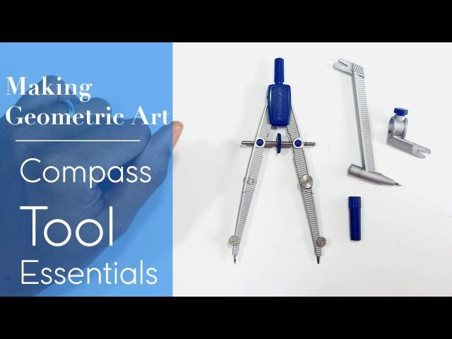 Drawing Compass | Tool Essentials - Making Geometric Art | DearingDraws