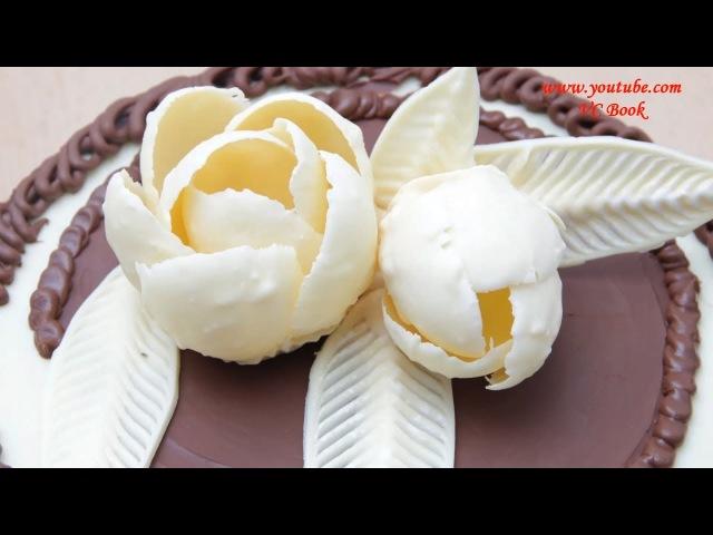 Цветы из шоколада | Изделия из шоколада | Шоколадные украшения