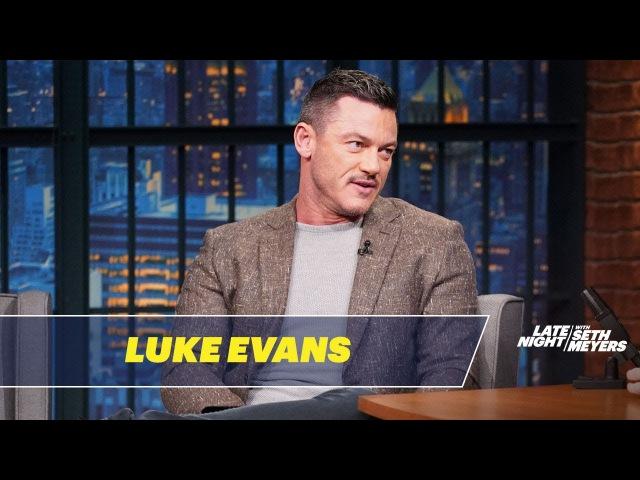 Luke Evans Shared an Awkward Meal with Helen Mirren