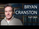 Bryan Cranston   Full QA at the Oxford Union
